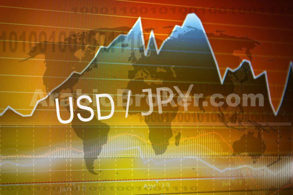 الدولار ين يعيد اختبار الدعم الفرعي
